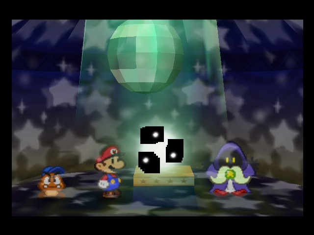Paper Mario - DISCO TIME!!!!!!!!!!! - User Screenshot